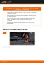 Cum să schimbați: filtru polen la Ford Mondeo BWY | Ghid de înlocuire