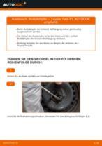 TOYOTA YARIS (SCP1_, NLP1_, NCP1_) Bremstrommel: Online-Handbuch zum Selbstwechsel