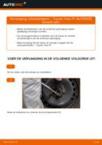 Online gratis instructies het Veerpoten vervangen TOYOTA YARIS (SCP1_, NLP1_, NCP1_)