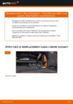 Comment changer Filtre à Carburant diesel et essence FORD MONDEO III Estate (BWY) - manuel en ligne