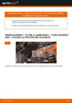 Remplacement Filtre a air de l'habitacle FORD MONDEO : pdf gratuit