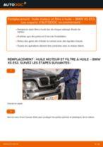 Comment changer : huile moteur et filtre huile sur BMW X5 E53 - Guide de remplacement