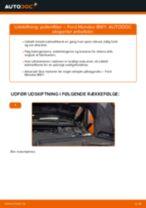 Værkstedshåndbog til Ford Mondeo mk3 Sedan