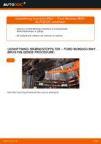 diesel og benzin Brændstoffilter FORD MONDEO III kombi (BWY) | PDF udskiftningsvejledning