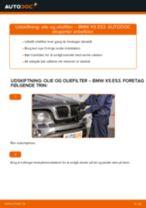 Udskift motorolie og filter - BMW X5 E53   Brugeranvisning