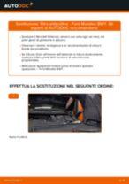 Come cambiare è regolare Filtro abitacolo FORD MONDEO: pdf tutorial
