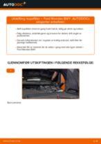 Trinn-for-trinn reperasjonshåndbøker Ford Mondeo b5y