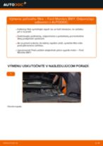 Ako vymeniť filter vnútorného priestoru na Ford Mondeo BWY – návod na výmenu