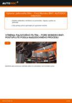 Kedy meniť Palivový filter FORD MONDEO III Estate (BWY): pdf príručka