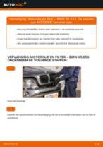 Hoe motorolie en filter vervangen bij een BMW X5 E53 – vervangingshandleiding