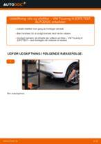 Værkstedshåndbog til VW TOUAREG