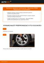 Jak wymienić sprężyny zawieszenia tył w Mercedes W168 diesel - poradnik naprawy