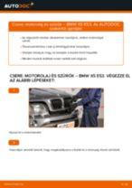 Motorolaj és szűrők-csere BMW X5 E53 gépkocsin – Útmutató