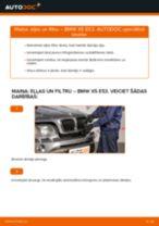 Kā nomainīt: eļļas un filtru BMW X5 E53 - nomaiņas ceļvedis