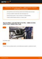 Schimbare Filtru ulei BMW X5: manual de intretinere si reparatii