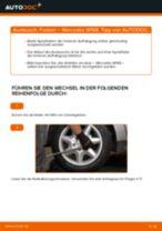 Wie Bremsbacken Handbremse vorne + hinten beim MERCEDES-BENZ A-CLASS (W168) wechseln - Handbuch online