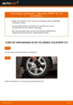 Hoe spiraalveer achteraan vervangen bij een Mercedes W168 diesel – Leidraad voor bij het vervangen