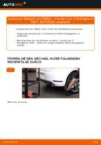 Ölfilter wechseln HONDA CIVIC: Werkstatthandbuch