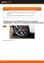 Jak wymienić wahacz poprzeczny dolny tylnego zawieszenia w VW Golf 6 - poradnik naprawy