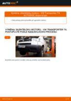 Jak vyměnit zadní silentblok motoru na VW Transporter T4 – návod k výměně
