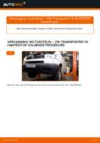 Hoe motorsteun achteraan vervangen bij een VW Transporter T4 – Leidraad voor bij het vervangen