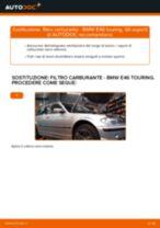 Come cambiare filtro carburante su BMW E46 touring - Guida alla sostituzione