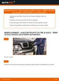 Comment effectuer un remplacement de Filtre à Huile sur 3.0 d BMW E53