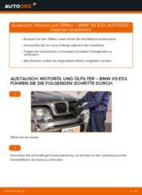 Wie der Wechsel durchführt wird: Ölfilter 3.0 d BMW E53 tauschen