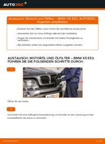 Wie der Austausch bewerkstelligt wird: Ölfilter beim BMW X5