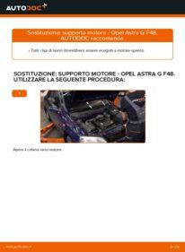 Come effettuare una sostituzione di Supporto Motore su OPEL ? Dai un'occhiata alla nostra guida dettagliata e scopri come farlo