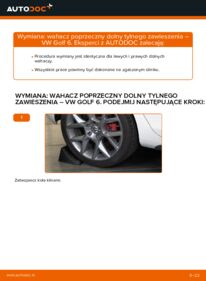 Jak przeprowadzić wymianę: Wahacz w VW GOLF