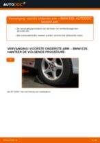 Hoe voorste onderste arm vervangen bij een BMW E39 – vervangingshandleiding