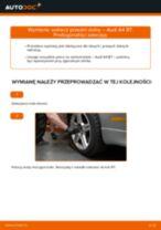 Jak wymienić Wahacz zawieszenia koła lewy i prawy AUDI A4 (8EC, B7) - instrukcje online