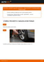 Jak vyměnit přední spodní rameno na Audi A4 B7 – návod k výměně