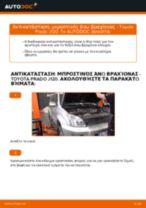 Αλλαγή Ψαλίδια αυτοκινήτου TOYOTA LAND CRUISER: δωρεάν pdf
