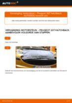 Hoe Axiaal gewricht spoorstang Hyundai Santa FE DM kunt vervangen - tutorial online