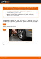 Comment changer : bras inférieur avant sur Audi A4 B7 - Guide de remplacement