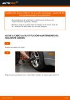 Cómo cambiar: brazo inferior de la parte delantera - Audi A4 B7 | Guía de sustitución