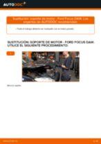 Cómo cambiar: soporte de motor de la derecha - Ford Focus DAW | Guía de sustitución
