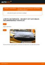 Steg-för-steg Peugeot 207 SW reparationsguide