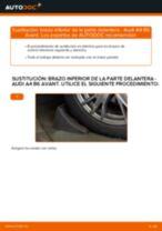 Cómo cambiar: brazo inferior de la parte delantera - Audi A4 B6 Avant | Guía de sustitución