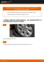 Jak vyměnit přední horní rameno na VW Transporter T4 – návod k výměně
