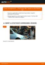 Lépésről-lépésre PDF-útmutató - Rover 200 RF Csapágy Tengelytest csere