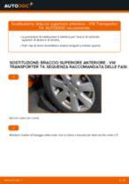 Impara a risolvere il problema con Braccio Oscillante sinistra e destra VW