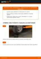Výmena Vzpera stabilizátora: pdf pokyny pre KIA SORENTO