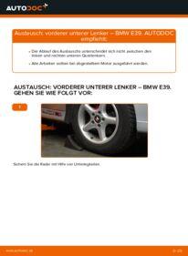 Wie der Wechsel durchführt wird: Querlenker 523i 2.5 BMW E39 tauschen