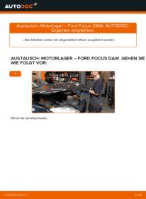 Wie der Ersatz vollführt wird: Motorlager am FORD FOCUS