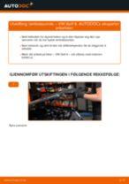 Montering Opphengsarmer VW GOLF IV (1J1) - steg-for-steg manualer