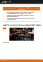 Kuinka vaihtaa lambda anturi VW Golf 4-autoon – vaihto-ohje