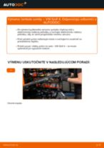 Vymeniť Manżeta Riadenia VW GOLF: zadarmo pdf